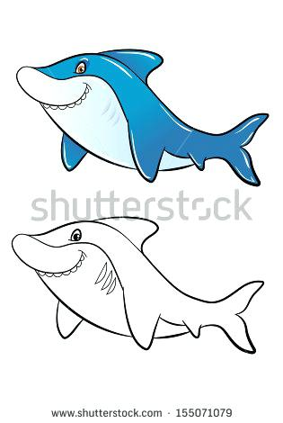 315x470 Shark Pictures To Color