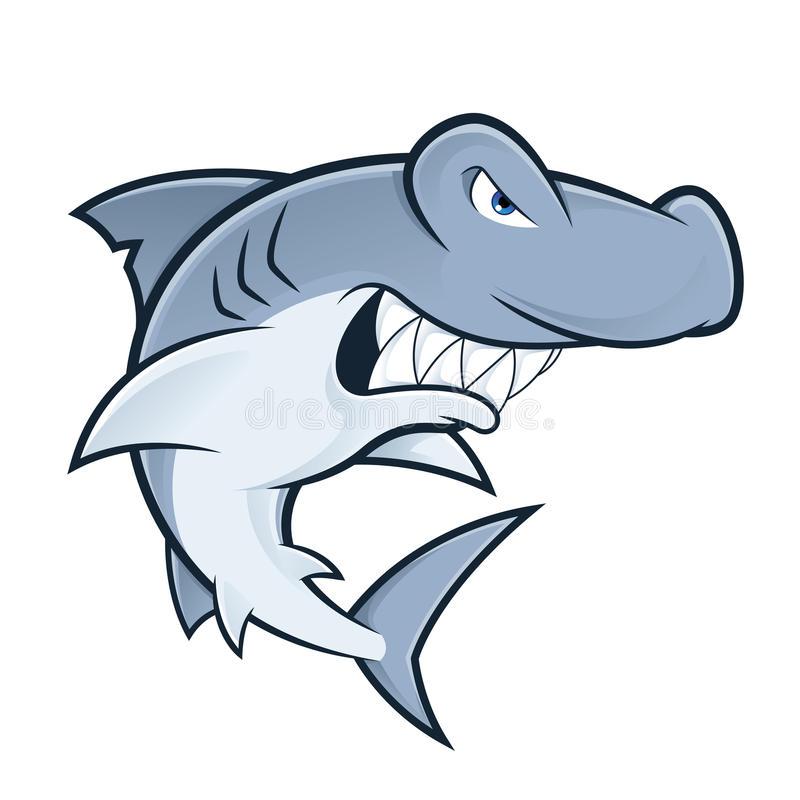 800x800 Cartoon Hammerhead Shark Coloring Photos Of Amusing Images Stock