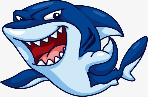 502x328 Blue Shark, Blue, Shark, Shark Tooth Png And Vector For Free Download