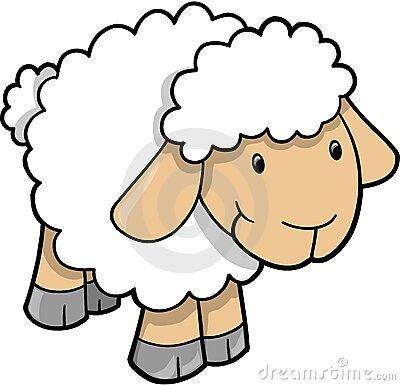 400x385 Feed My Little Sheep. John 2117. Daily Text Clip