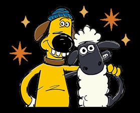 279x225 Shaun The Sheep Sticker