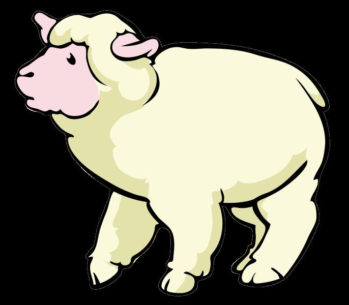 686x600 Shaun The Sheep Clipart