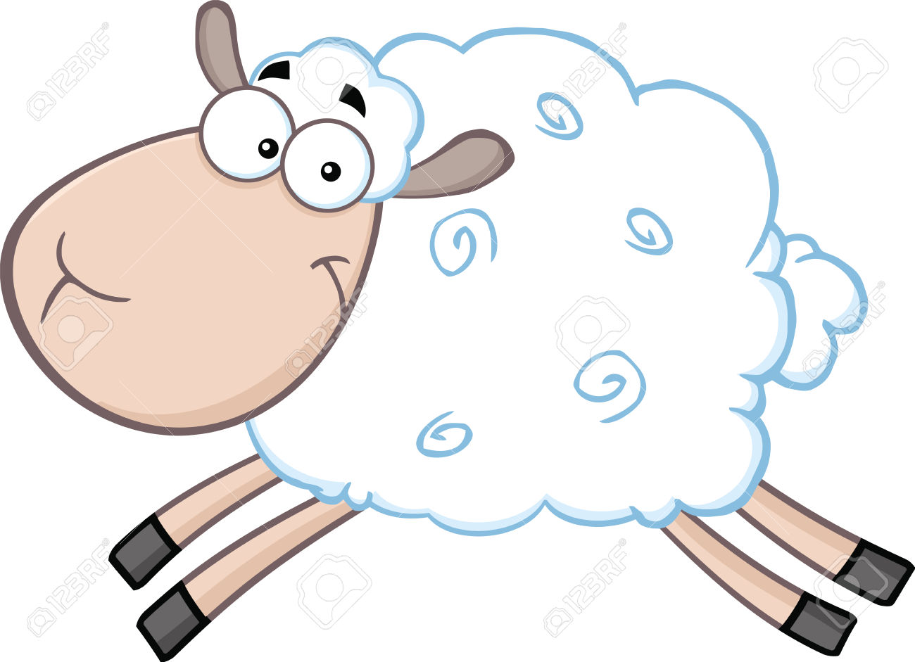 1300x941 Cartoon Sheep Pictures Gallery Images)