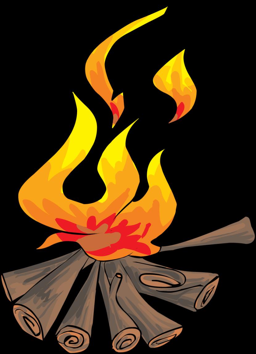 830x1146 Bonfire Clipart B Omer