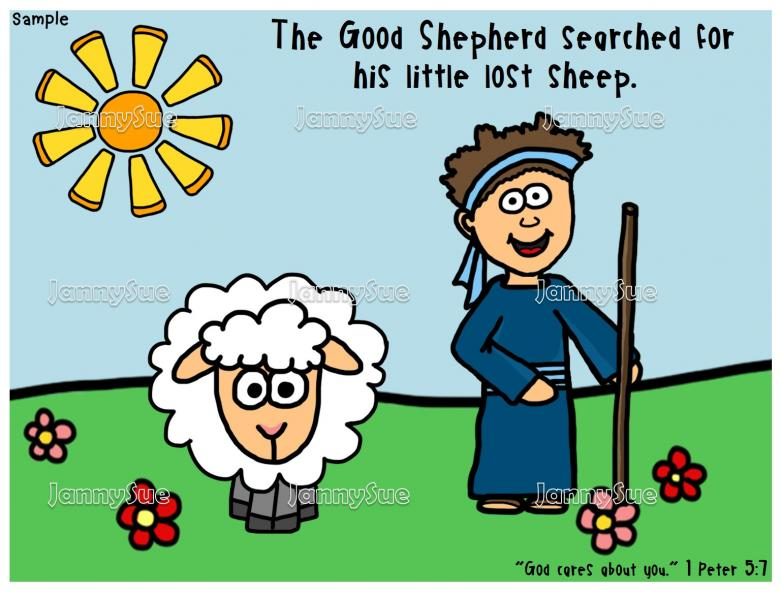 781x596 Good Shepherd And Sheep Craft