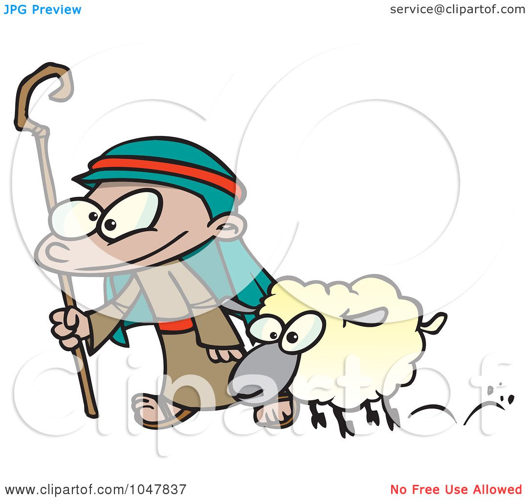 1080x1024 Royalty Free (Rf) Clip Art Illustration Of A Cartoon Shepherd