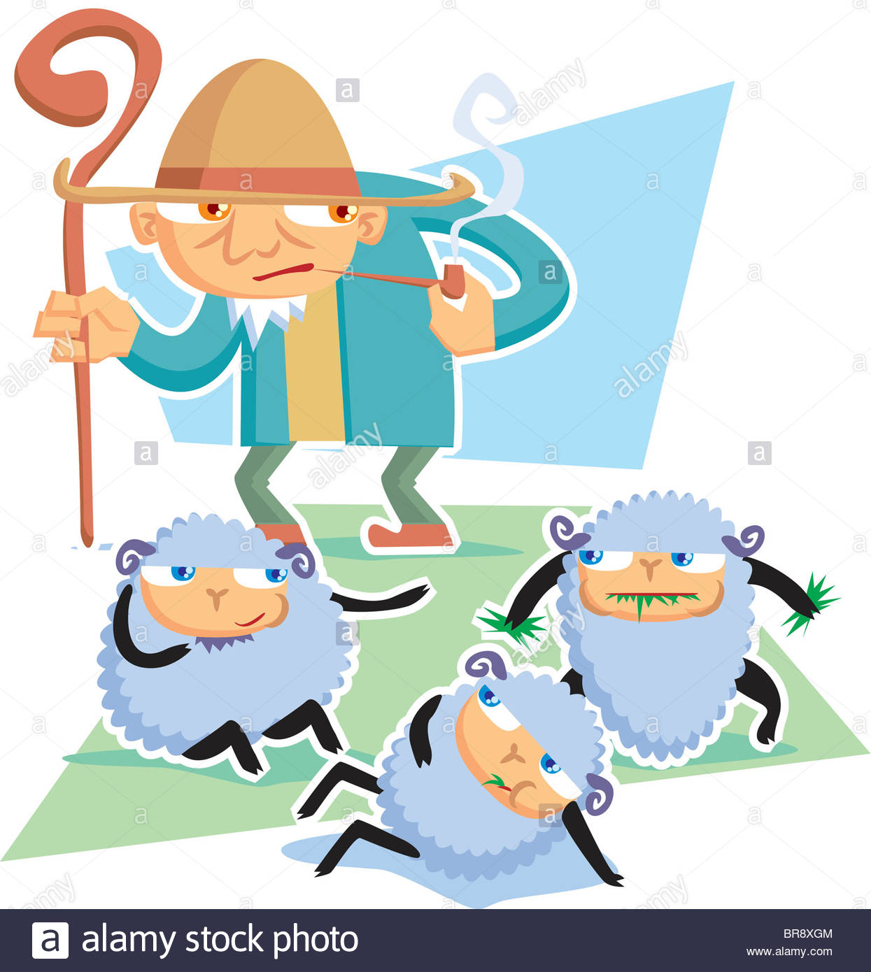 1245x1390 Shepherd Flock Illustration Stock Photos Amp Shepherd Flock