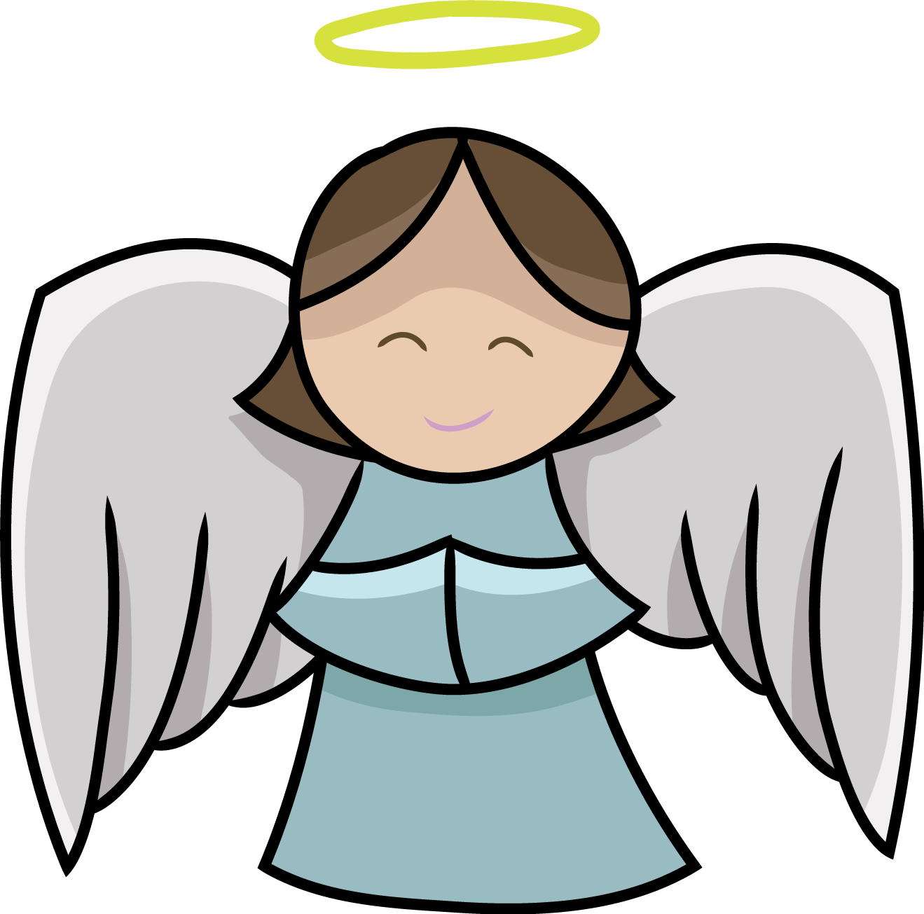shepherds and angels clipart at getdrawings com free for personal rh getdrawings com free clipart angel with halo black and white free clipart angel images
