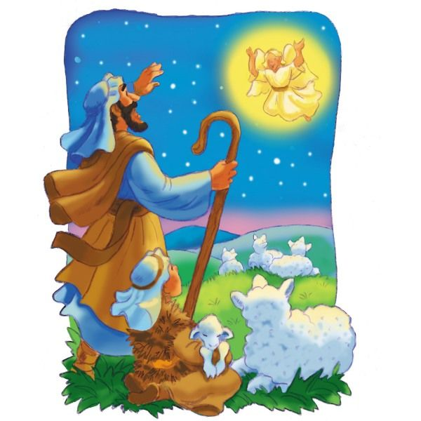 600x600 Shepherds angels sheep.jpg Jesus