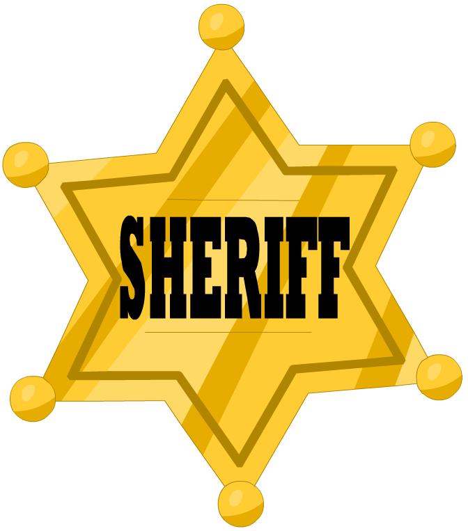 672x763 Western Sheriff Badge Clipart Best Badge 2017