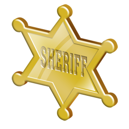 Sheriff Star Clipart