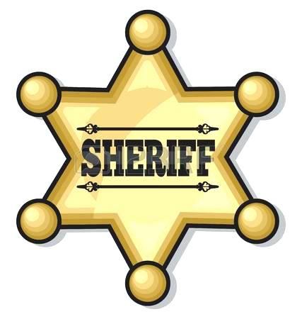 sheriff star clipart at getdrawings com free for personal use rh getdrawings com sheriff clipart gif sheriff badge clipart