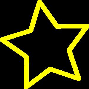300x300 Star Clip Art