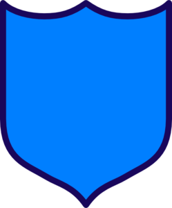 249x300 Dark Blue Shield Clip Art