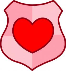 277x300 Love Shield Clip Art Download
