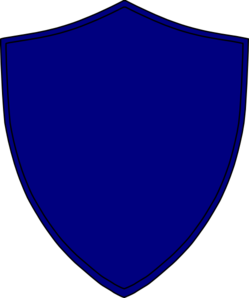 249x298 Shield Clipart Blue