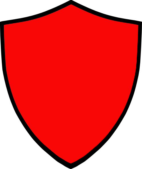 498x595 Shield Red Clip Art