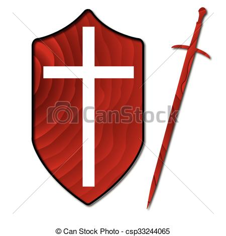 450x470 Wooden Sword Shield. A Typical Wooden Knights Sword