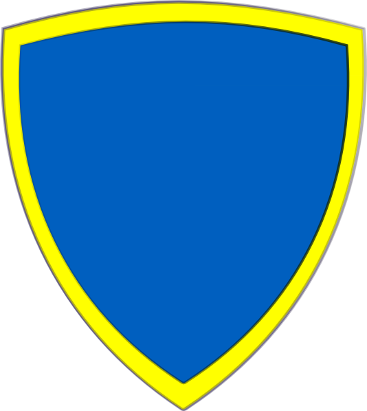 534x597 Blue Yellow Security Shield Clip Art