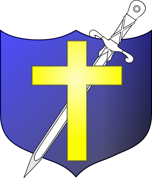 510x595 Cross Shield Clipart