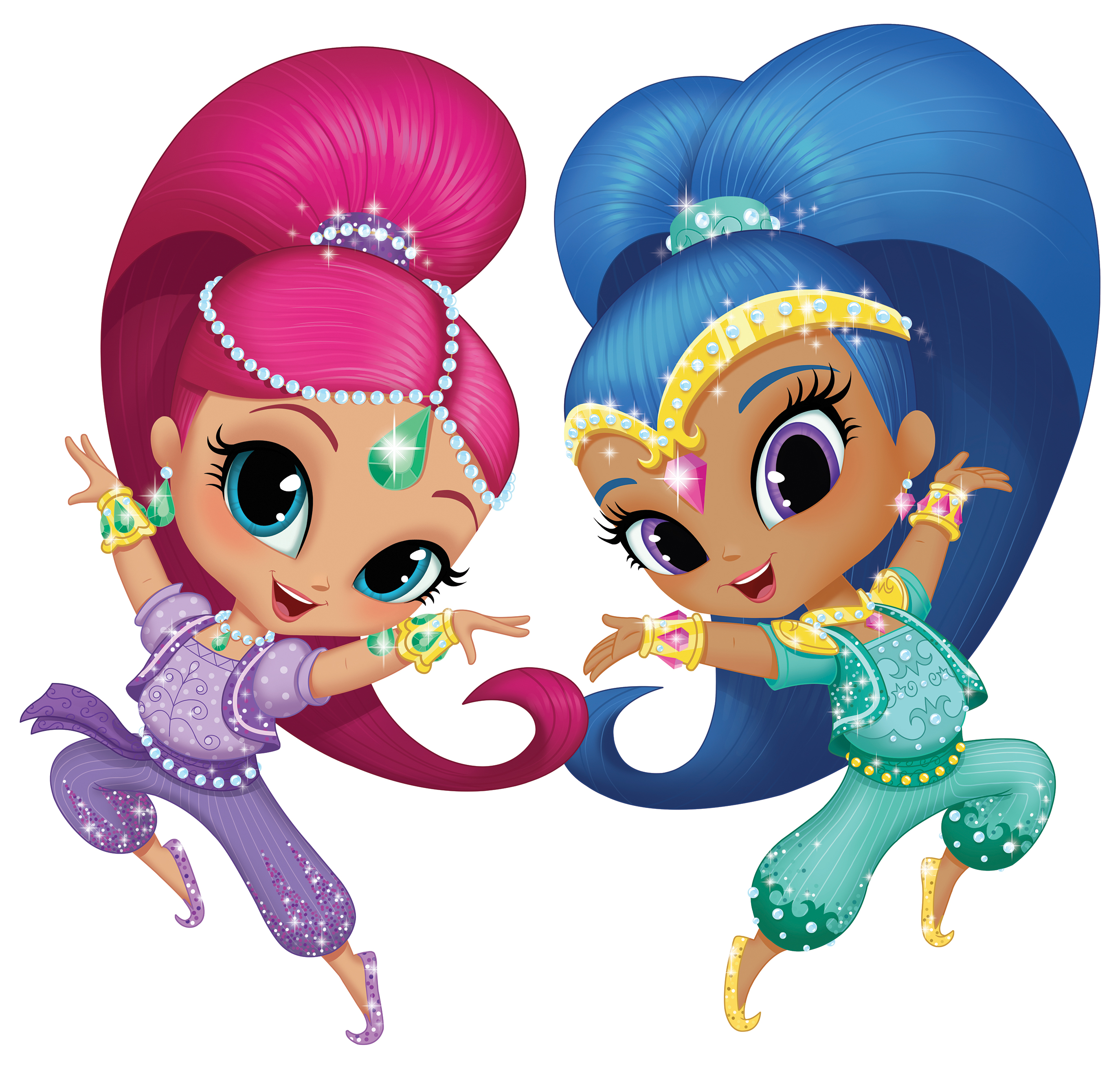 Shimmer And Shine Clipart At Getdrawings Free Download