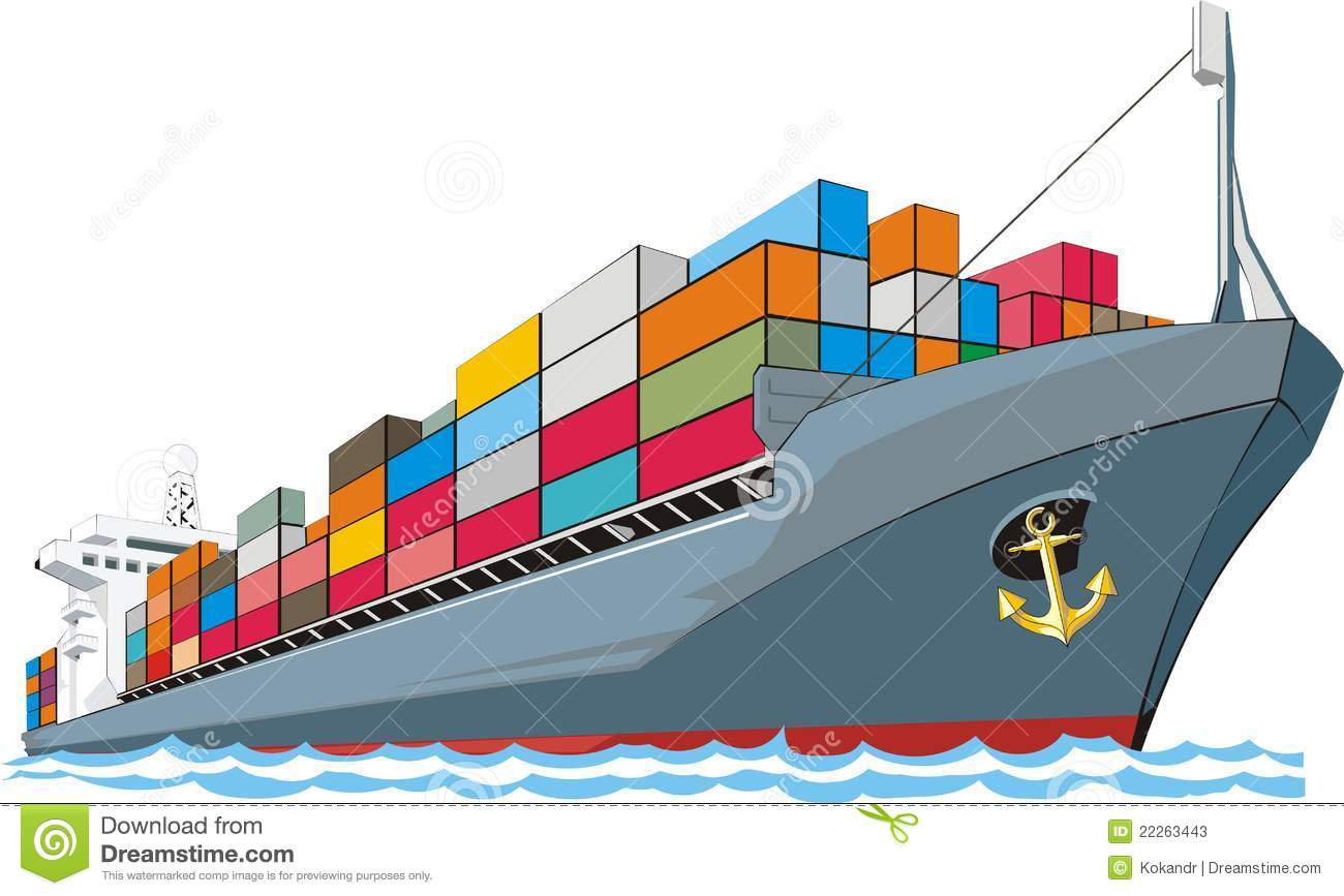 1300x867 Freighter Clip Art