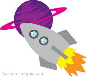 300x265 Grand Rocket Ship Clipart Clip Art At Clker Com Vector Online