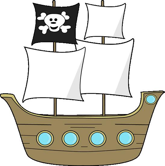 547x550 Pirate Ship Clip Art Clipart Panda