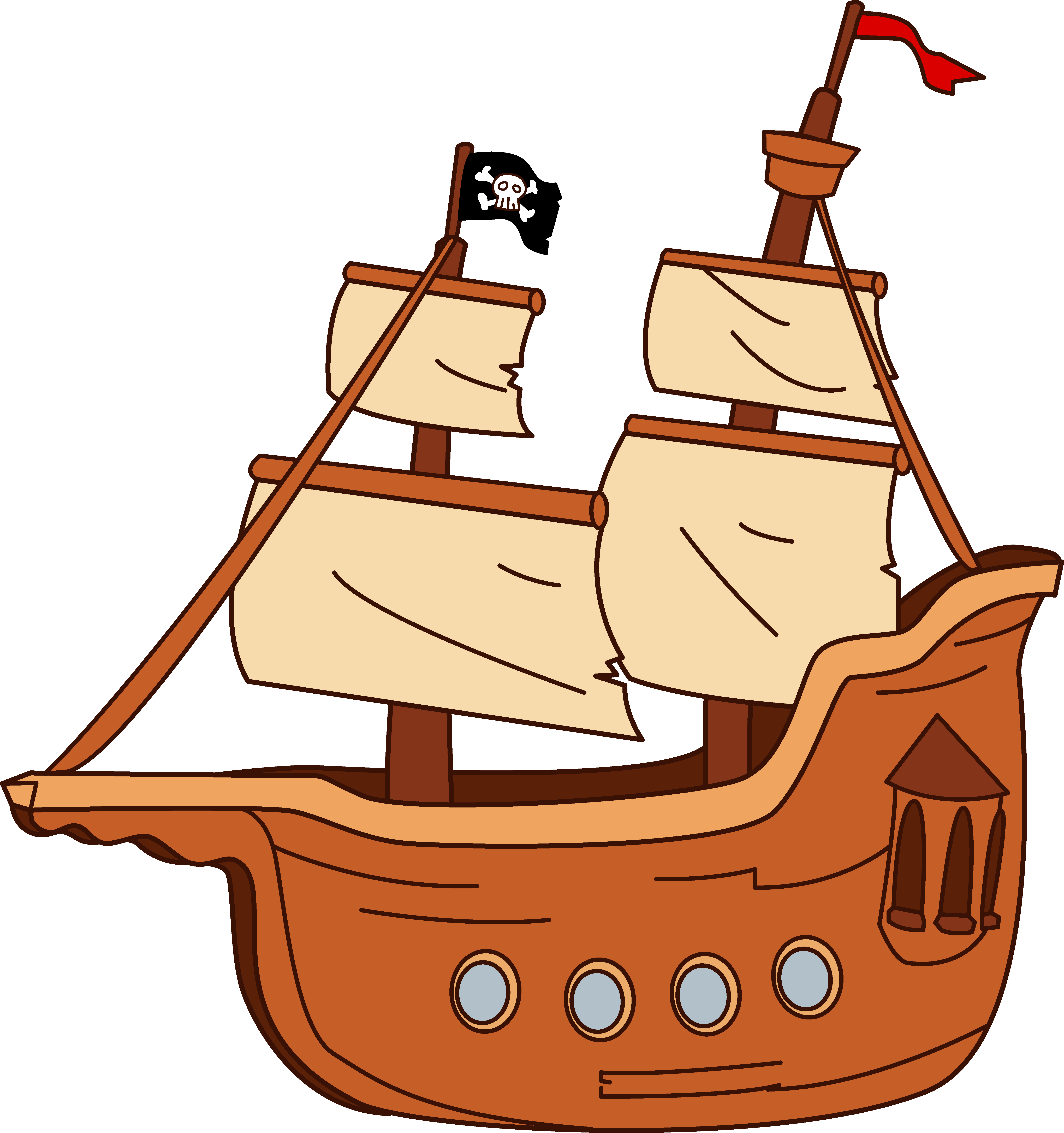 6205x6606 Boat Clipart