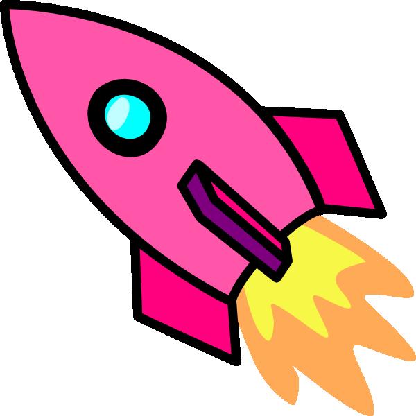 600x600 Cartoon Rocket Ship Clipart