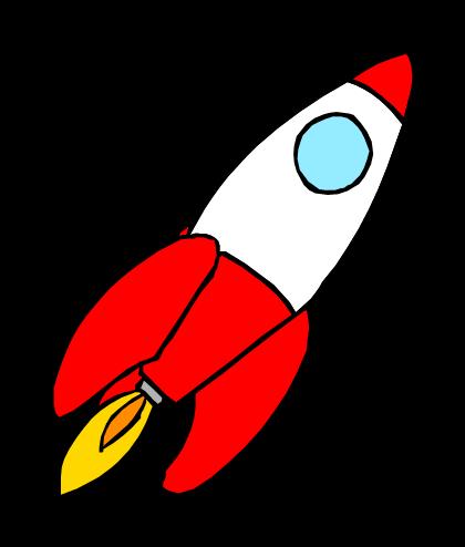 420x494 Cartoon Rocket Ship Free Download Clip Art