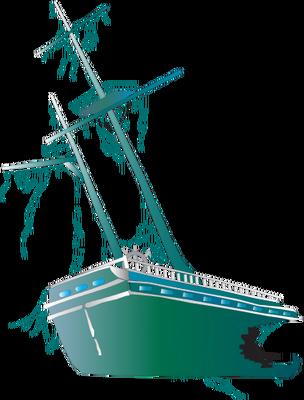 304x400 Shipwreck Clipart