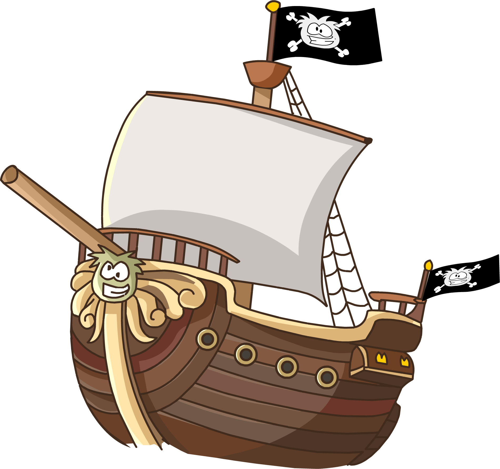 1900x1784 Collection Of Pirate Ship Clipart Free High Quality, Free