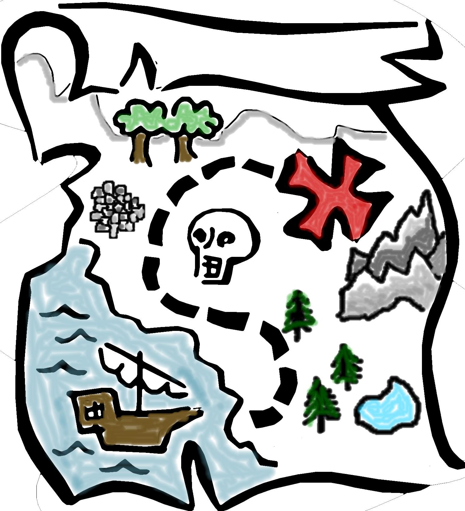 1545x1697 Clip Art Map