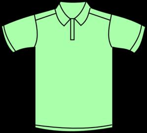 298x270 Green Polo Clip Art