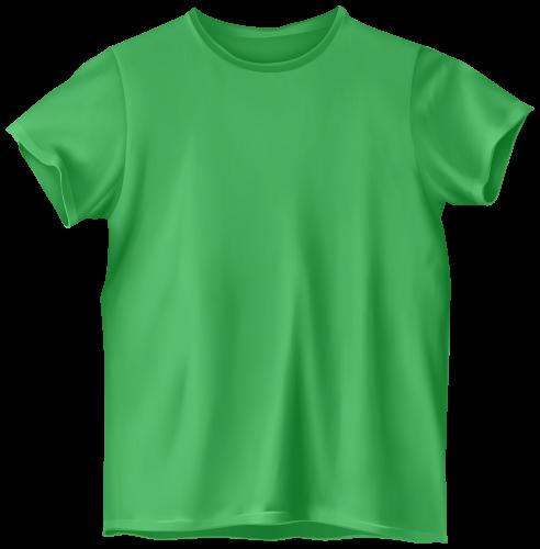 492x500 Green T Shirt Png Clip Art