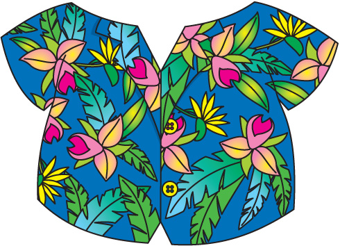 490x354 Hawaiian Shirt Clip Art Free Clipart Images 4