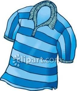 255x300 Striped Shirt Clip Art Clipart