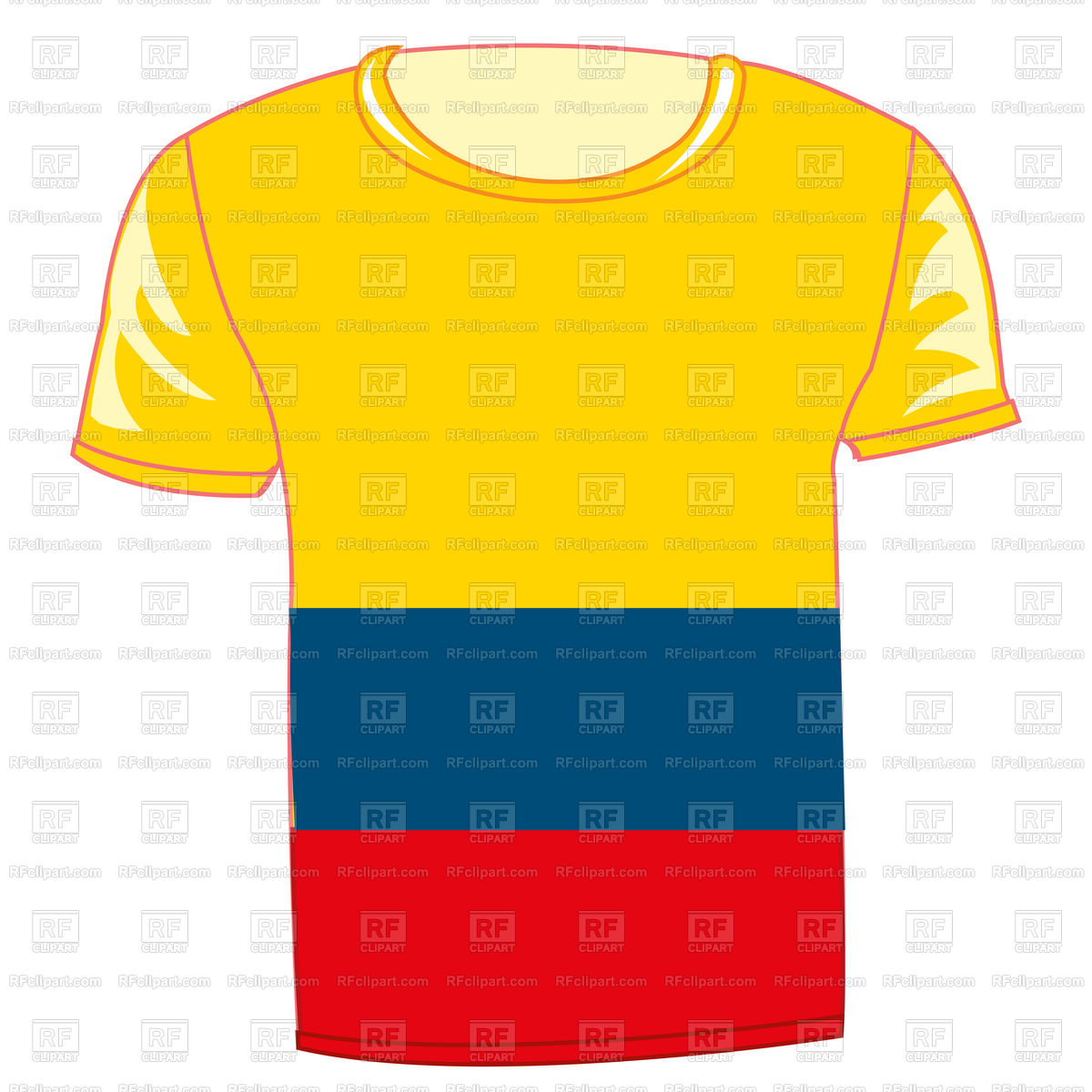 1200x1200 T Shirt With Flag Of The Country Columbia Free Download Vector