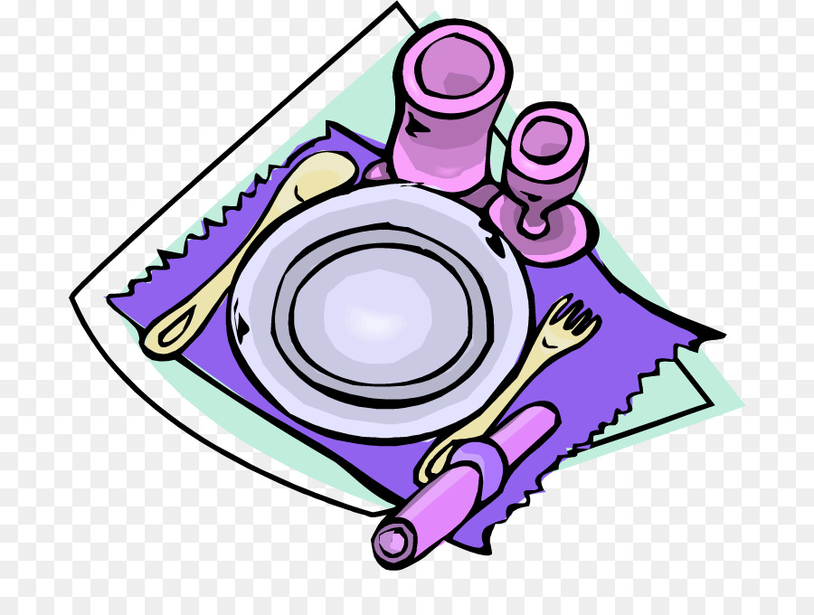 900x680 Table Setting Plate Clip Art