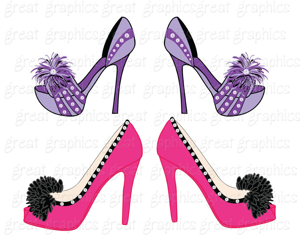 1000x800 Shoe Clipart Shoe Clipart Crazy Shoes Digital Clip Art Shoe