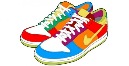 425x219 Download Running Shoes Clipart Shoes Corner