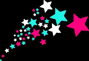 300x206 Shooting Star Clipart Shooting Stars Clip Art
