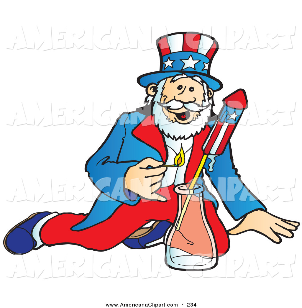 1024x1044 Americana Clip Art Of A Patriotic Uncle Sam Lighting And Shooting