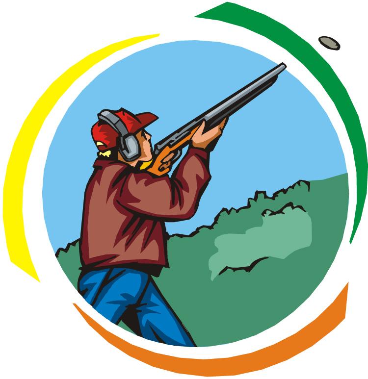 750x773 Skeet Shooting Clipart