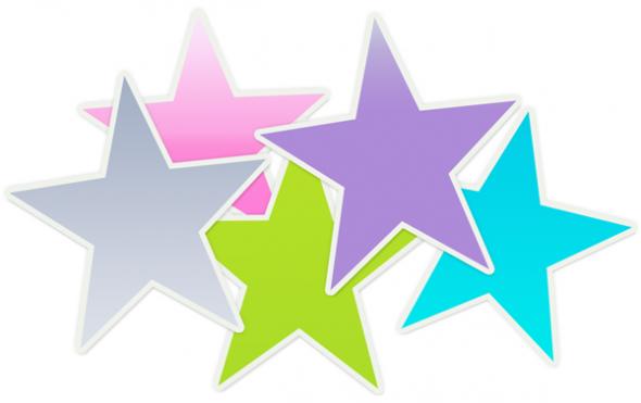 590x371 Free Clipart Of Stars