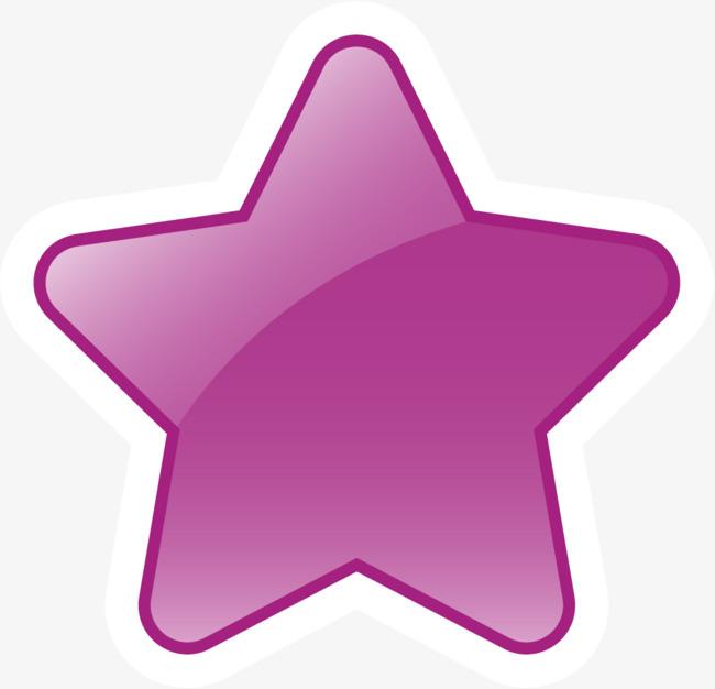 650x626 Lofty Design Purple Star Clipart Clip Art At Clker Com Vector