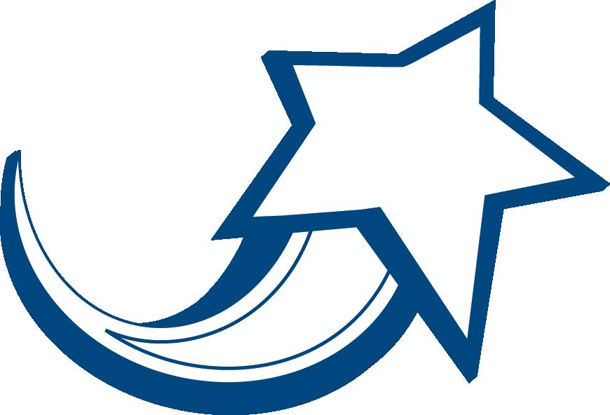 870x592 Star Logo Clipart