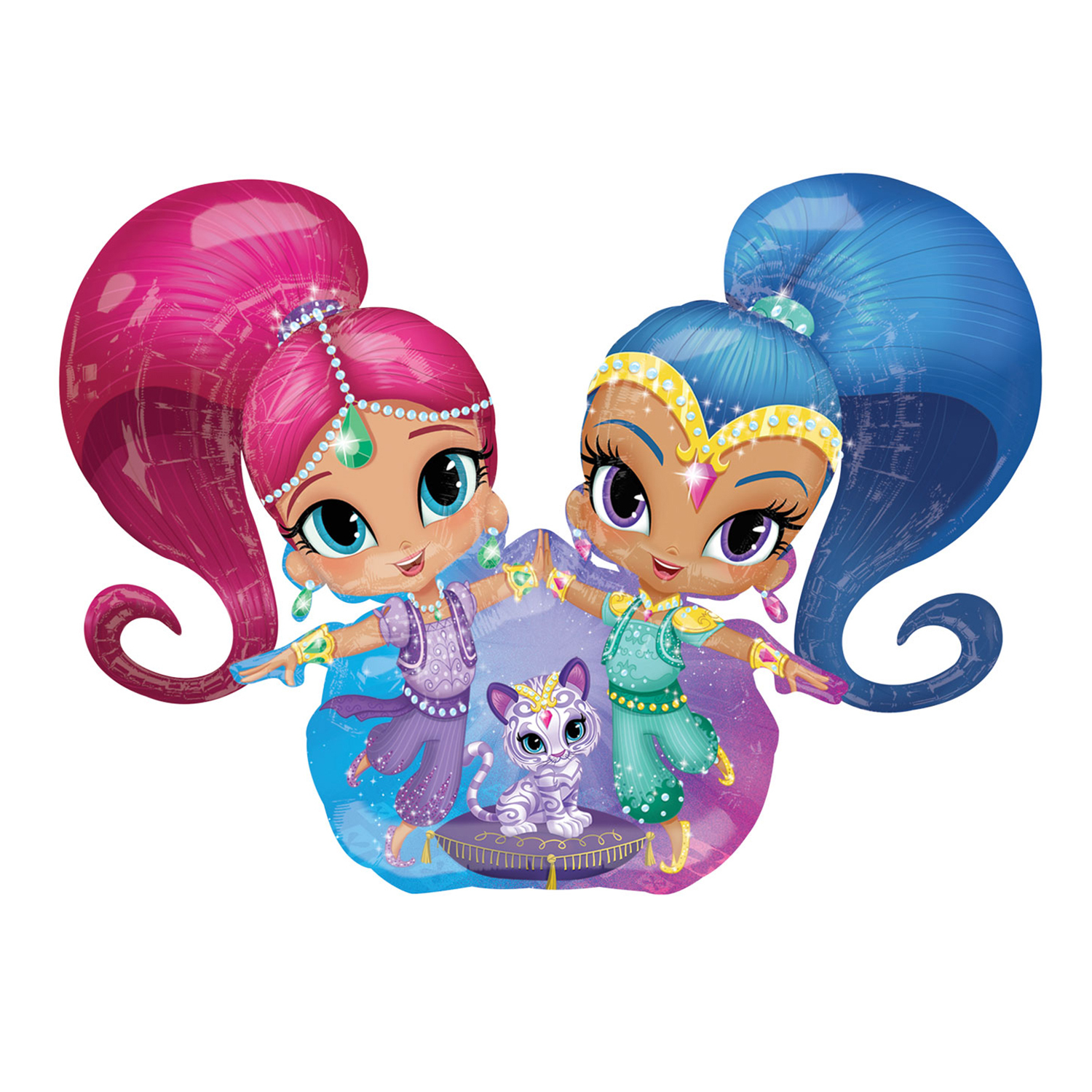 1500x1500 Shimmer And Shine Clipart Union Bankrc