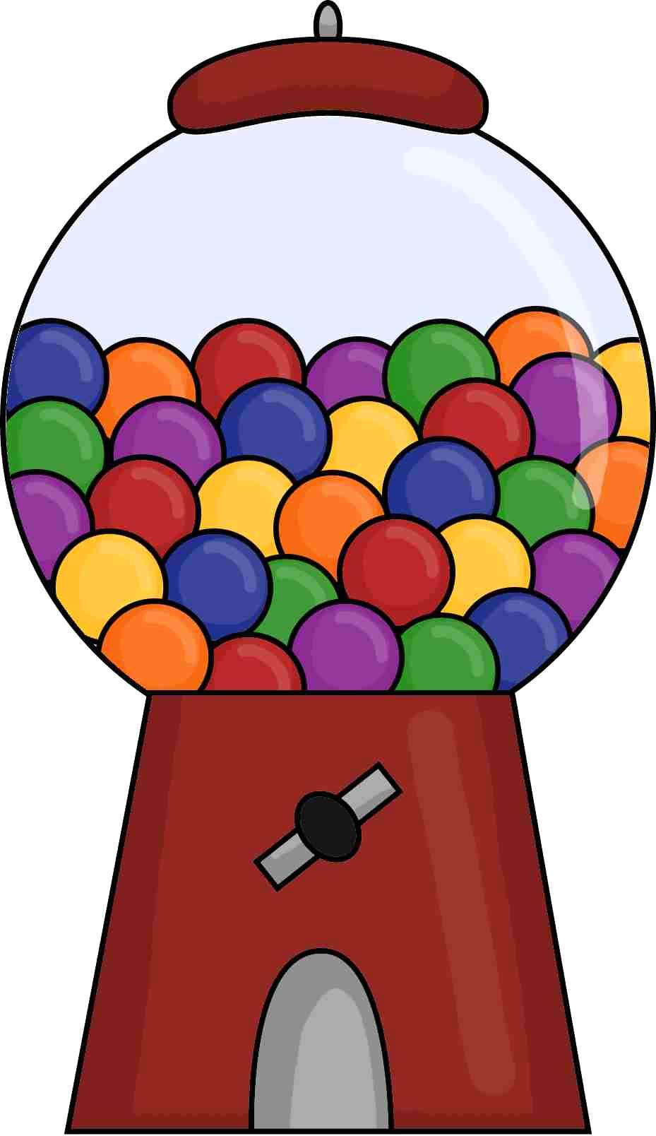 929x1608 Bubble Gum Machine Clipart Free Download Clip Art Carwad Net